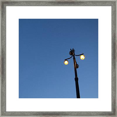 Illuminated Framed Print by Linda Woods