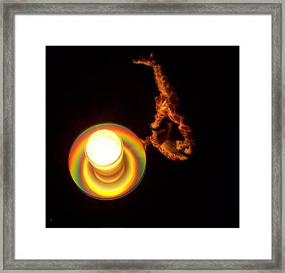 Illuminated Objects Framed Print