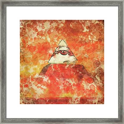 Illuminati By Raphael Terra And Mary Bassett Framed Print