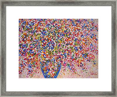 Framed Print featuring the painting Illumination by Natalie Holland
