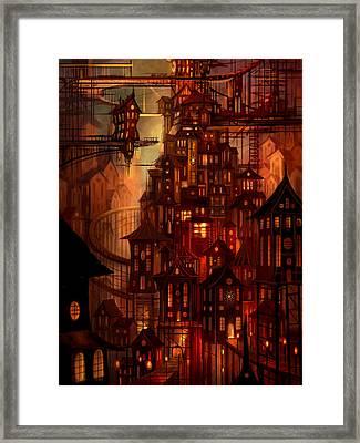 Illuminations Framed Print by Philip Straub