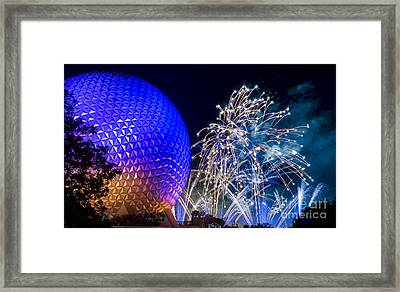 Illuminations Reflections Of Earth Framed Print