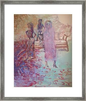 Illusion Framed Print by Edward Tomilov