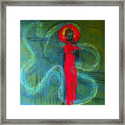 Illusion Framed Print by Erika Brown
