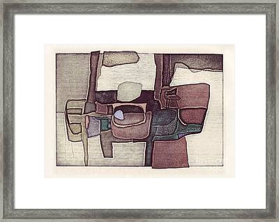 Illusion I Framed Print by Agnese Kurzemniece