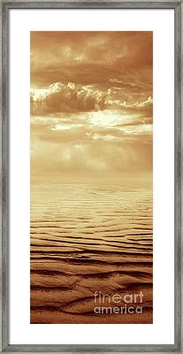 Illusion Never Changed Into Something Real Framed Print