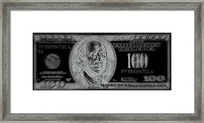 Warning Illusion Not Real Framed Print by Micael Pace