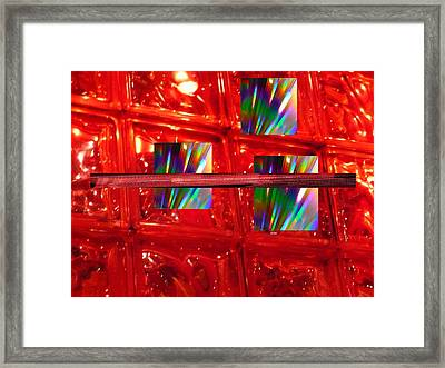 Illusions Framed Print by Florene Welebny