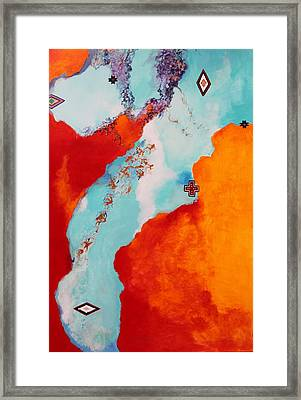 Illusions Framed Print by M Diane Bonaparte