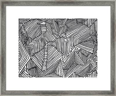 Illusions New Framed Print by Christopher Rowlands