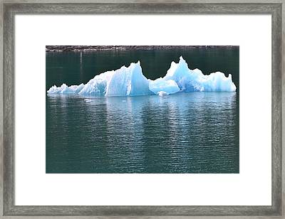 Illusions Of Blue Framed Print