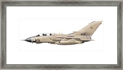 Illustration Of A Panavia Tornado Gr1 Framed Print