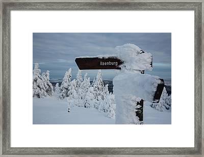 Ilsenburg, Harz Framed Print by Andreas Levi