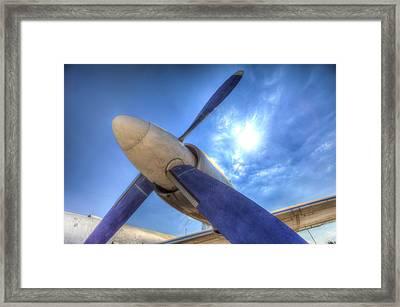 Ilyushin Il-18 Turboprop  Framed Print