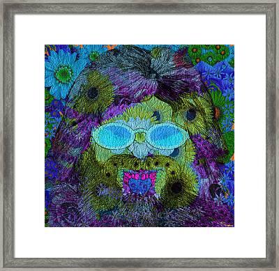 Im A Hippie Man Framed Print