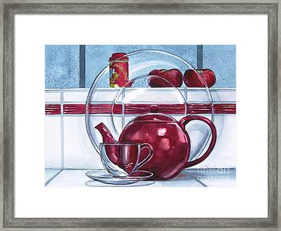 I'm A Little Teapot Framed Print by Jane Loveall