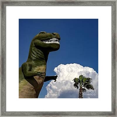 I'm A Nervous Rex Framed Print