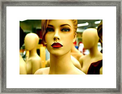 Im Ahead Of The Crowd Framed Print by Jez C Self