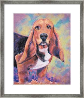 I'm All Ears Ears Framed Print by Billie Colson
