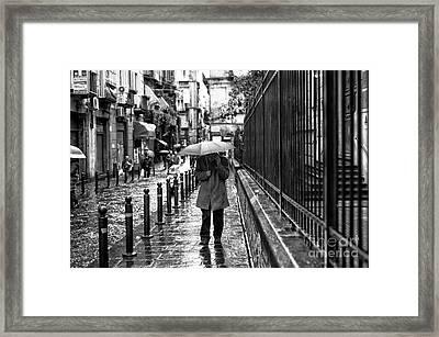 I'm Coming Home Framed Print by John Rizzuto