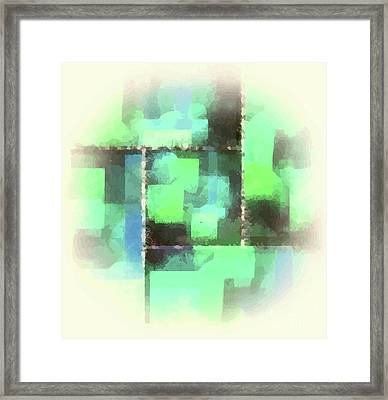 I'm Envious Abstract Framed Print