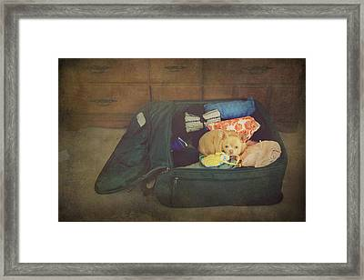 I'm Going With You Framed Print