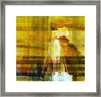 I'm Here For You Framed Print by Fania Simon
