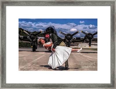 I'm Home Baby Framed Print