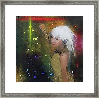 I'm Just A Passenger Framed Print by Law Cheuk Yui