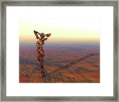 I'm Looking Through You Framed Print by Daniel Bauer