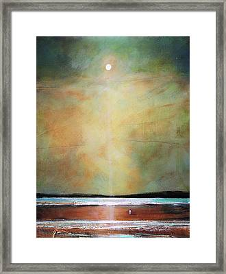 I'm Never Alone Framed Print by Toni Grote