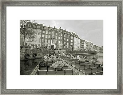 I'm Not A Tourist In Nyhavn Framed Print