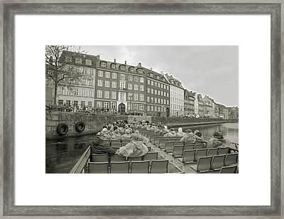 I'm Not A Tourist In Nyhavn Framed Print