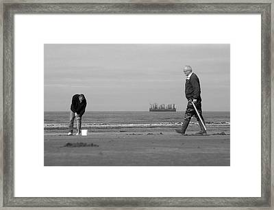 Im Off For Now Framed Print by Jez C Self