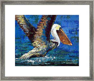 Framed Print featuring the painting Im Outa Here by Suzanne McKee