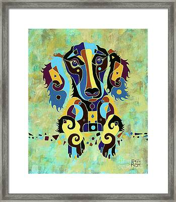 I'm Really Puzzled Framed Print