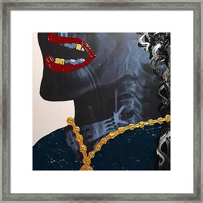 I'm Rick James Bitch Framed Print by Anjail Abdullah