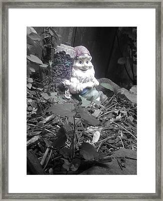 I'm So Gnomely Framed Print by Brynn Ditsche