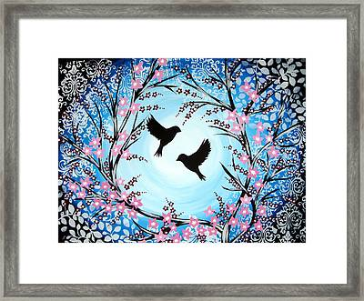 I'm Still In Love Framed Print by Cathy Jacobs