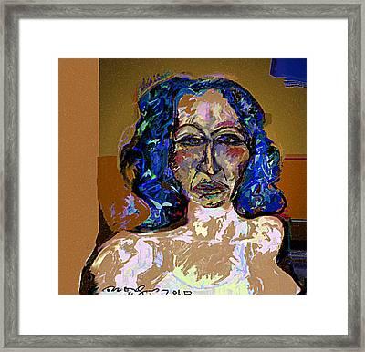I'm Your Silence Framed Print