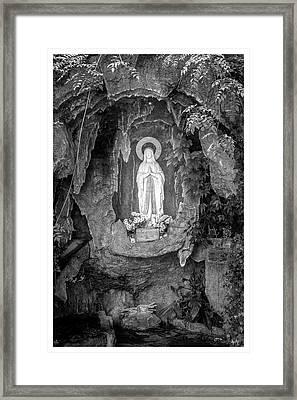 Imaculada Conceicao-campos Do Jordao-sp Framed Print