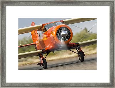 Image Of Staggerwing Proportions Framed Print