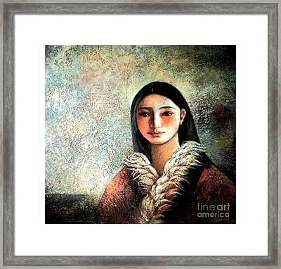Image Of Tibet II Framed Print by Shijun Munns