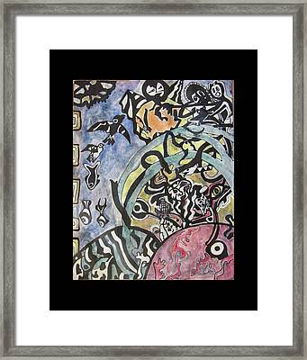 Images From The Collective Unconscious Framed Print