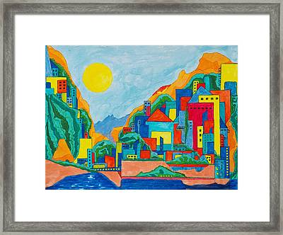 Images Of Italy Framed Print by David Raderstorf