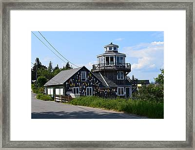 Images Of Maine 4 Framed Print