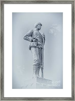 Images Of The Gettysburg Battlefield 1 Framed Print