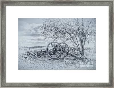 Images Of The Gettysburg Battlefield 2 Framed Print