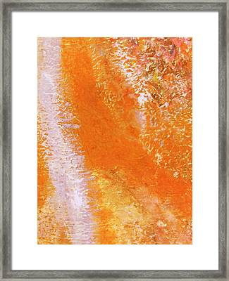 Imaginary Aerial View  Framed Print by Anne-Elizabeth Whiteway