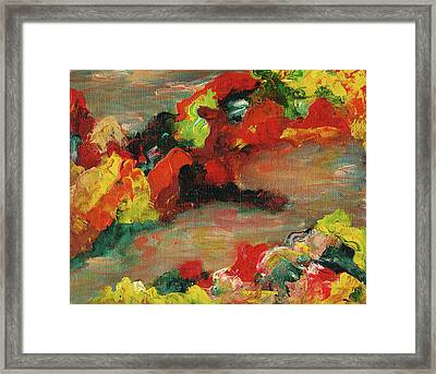Imaginary Autumn Framed Print by Suzanne  Marie Leclair